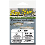 Frog Hair FC High Performance Tapered Leader 10# Test