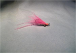 Pink Rubber Leg Crazy Charlie Bonefish Fly