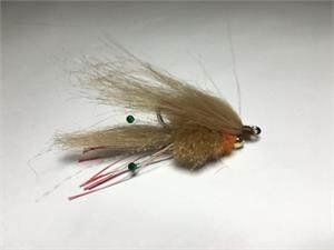 Crimp Fly in Tan
