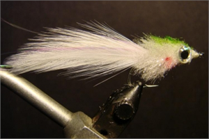 White - Wild Eye Minnow Snook Fly