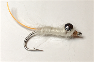 Cream Bonefish Worm Fly