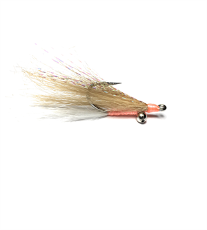 Gotcha-Clouser Fly in Tan