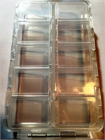 Twenty Compartment Clear Fly Box