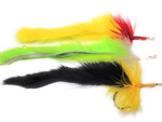 Variety of Bunny Pike Flies