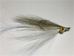 Deep Clouser Minnow in Olive over White