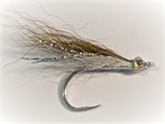 Olive over White Dave's Albie Fly