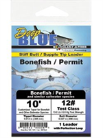 10# Test Deep Blue Bonefish Permit Leader