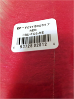 Red EP Foxy Brush