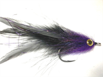 Black and Purple GT Brush Fly