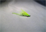 Chartreuse Rubber Leg Crazy Charlie Bonefish Fly