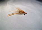 Tan Rubber Leg Crazy Charlie Bonefish Fly