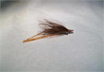 Brown Rubber Leg Crazy Charlie Bonefish Fly