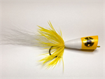 Yellow and White Saltwater Popper
